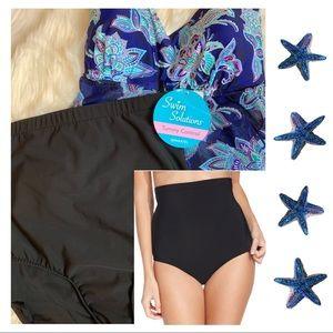 Swim Solutions | High Waisted Swim Bottom